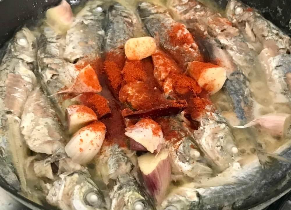 Cocinar pescado