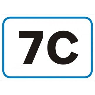targa numero civico