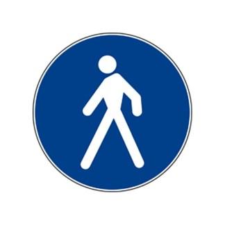 Adesivo da pavimento PASSAGGIO PEDONALE