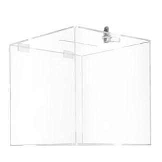 Urna cubica in plexiglass