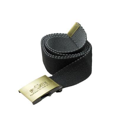 Cintura bicolore con fibbia in metallo