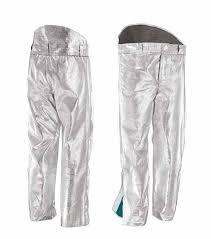 Pantaloni in aramidico alluminizzato