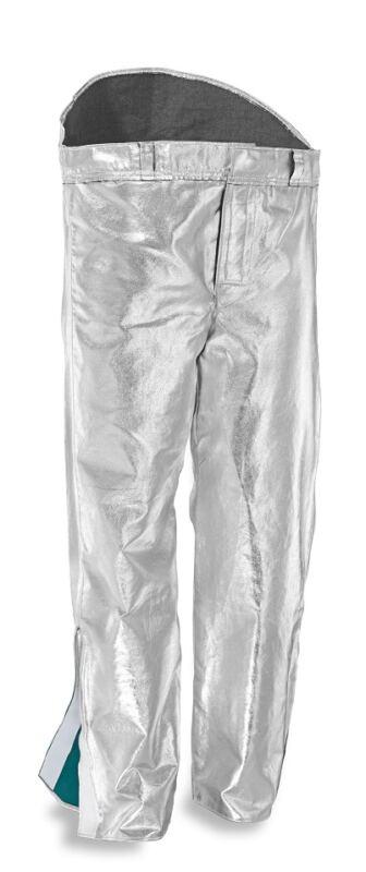Pantaloni in aramidico alluminizzato foderati