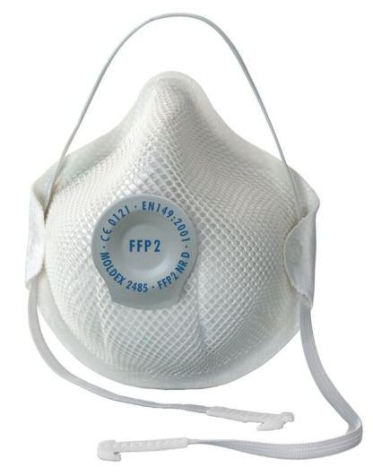 Mascherina FFP2 con valvola 2485