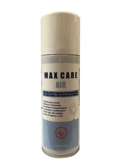 Igienizzante spray secco MAX CARE AIR