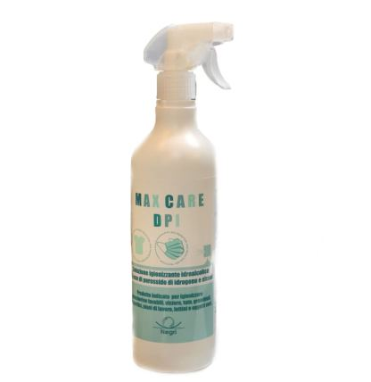 Igienizzante MAX CARE DPI 750 ml