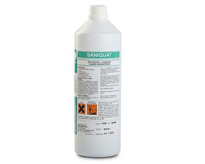 Battericida fungicida SANIQUAT 1 lt