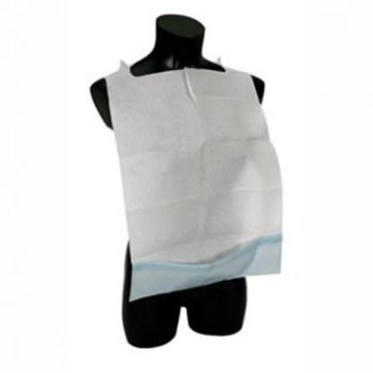 BAVAGLIA protettiva con tasca e lacci rinforzati