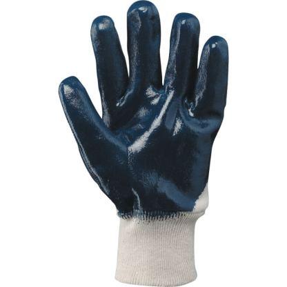 Guanti cotone jersey spalmati NBR blu BROK 600