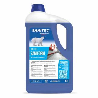 Detergente igienizzante pavimenti SANIFORM 5 kg