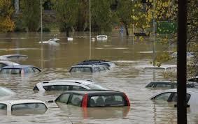 Alluvione a Carrara
