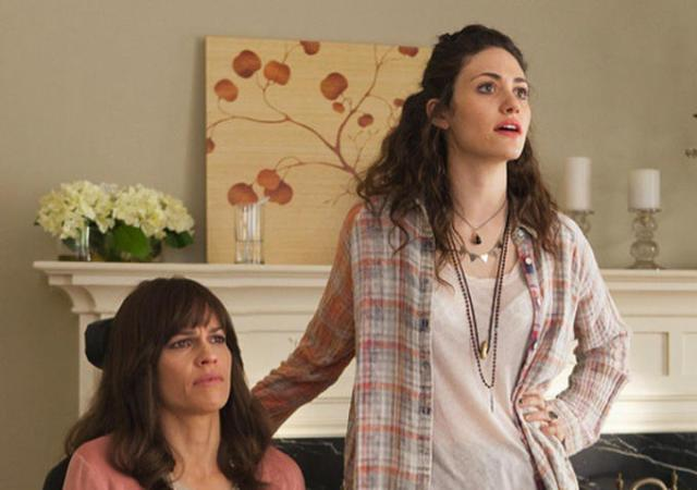 """Emmy Rossum di Shameless e Hilary Swank di Million dollar baby nel film sulla Sla """"Qualcosa di buono"""""""