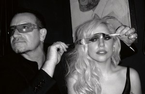 Lady Gaga e Bono al Madison Square Garden
