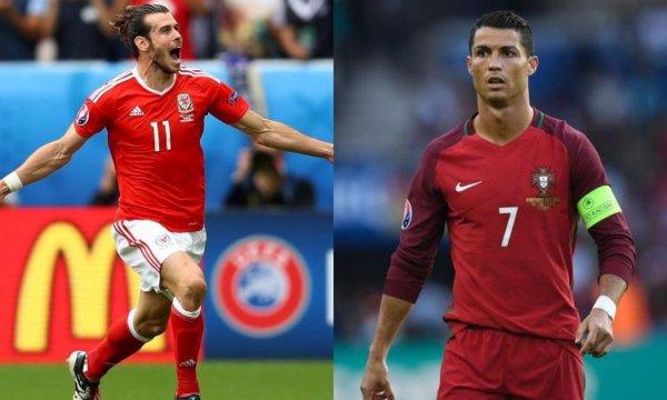 Portogallo - Galles semifinale europei 2016