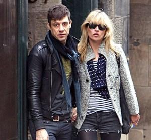 kate Moss con Jamie Hince