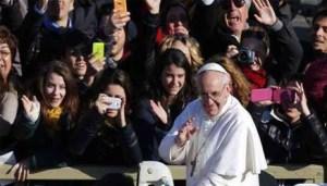 Papa Francesco tra i giovani