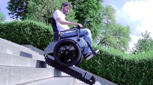 Scalevo la sedia a rotelle che arrampica le scale