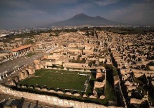 Gli scavi di Pompei vittima degli intrusi notturni
