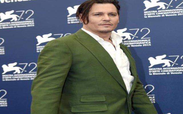 Johnny Depp a Venezia 72