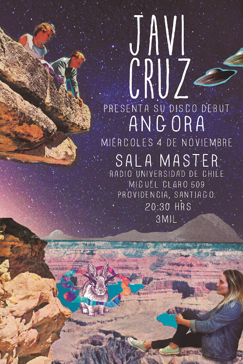 Afiche Lanzamiento Javi Cruz