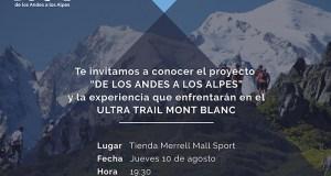 De los Andes a los Alpes