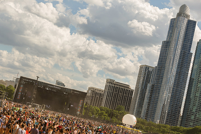 streaming Lollapalooza Chicago
