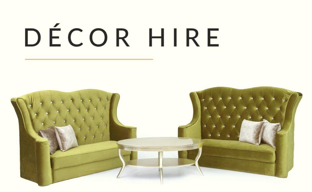 Deco Hire static page