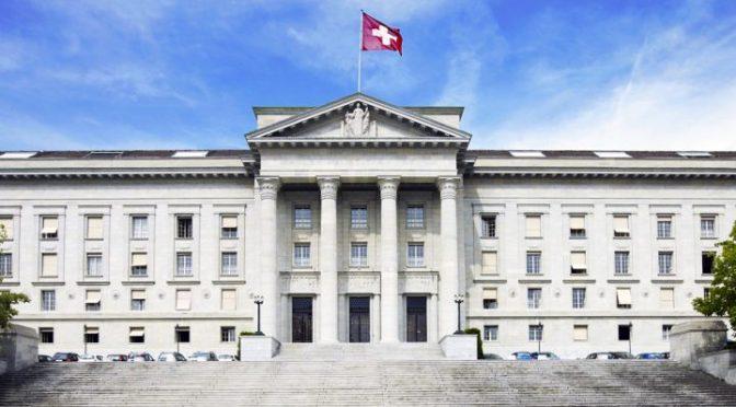 Wenn jemand die Schweiz isoliert, dann das Bundesgericht