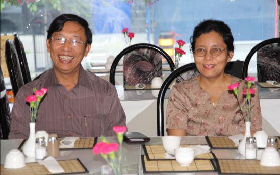 Ambassador Hau Do Suan and his wife