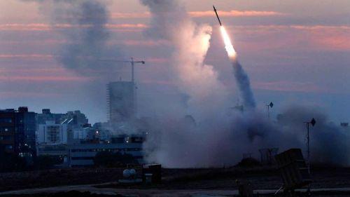 Iron Dome Defense in raal in kaaphnak rocket kaap lai