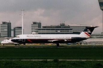 BAC 111-501EX British Airways G-AWYR