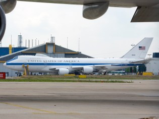 E-4B National Airborne Operations Center aircraft 50125