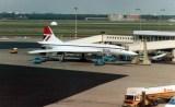 British Airways Concorde G-BOAE at Amsterdam-Schiphol.