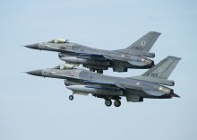 F-16AM J-060 and J-193 RNAF