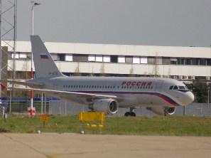 VP-BTQ Airbus A319-114 Rossia