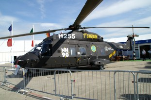 Swedish NH90-TTH High Cabin variant.