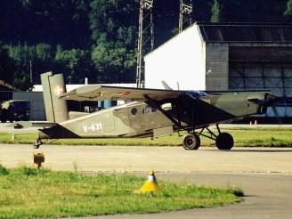 Pilatus PC-6 V-631 of the Swiss Air Force