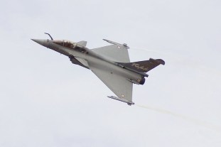 French Dassault two seater Rafale