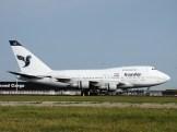 Boeing 747SP-86 EP-IAA Iran Air