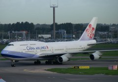 Boeing 747-409 B-18208 China Airlines