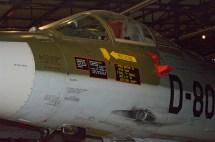 Royal Neterlands Air Force F-104G Gun detail