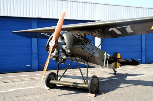 Fokker D.VIII 17 Belgian Air Force