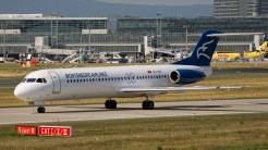 _IGP6673 Fokker 100 F-28-0100 4O-AOP Montenegro Airlines