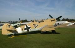 Hispano HA-1112-M1L Buchon 1+> Luftwaffe at Duxford