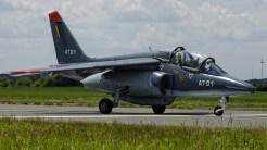 IMGP1082 Dassault-Dornier Alpha Jet 1B Belgian AF AT-01