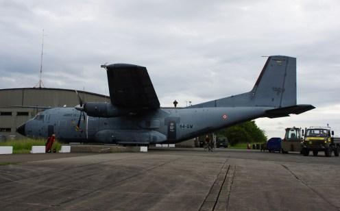 Transall C160 R223/64-GW support Patrouille de France
