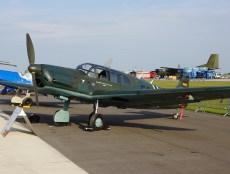 Messerschmitt Bf-108 Taifun D-ESBH/ES+BH Luftwaffe (Messerschmitt Stiftung)