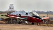 BAC 84 Jet Provost T5A RAF XW406