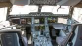 Airbus A350-900 cockpit A7-ALD