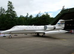 Learjet C-21A 40086 USAFE